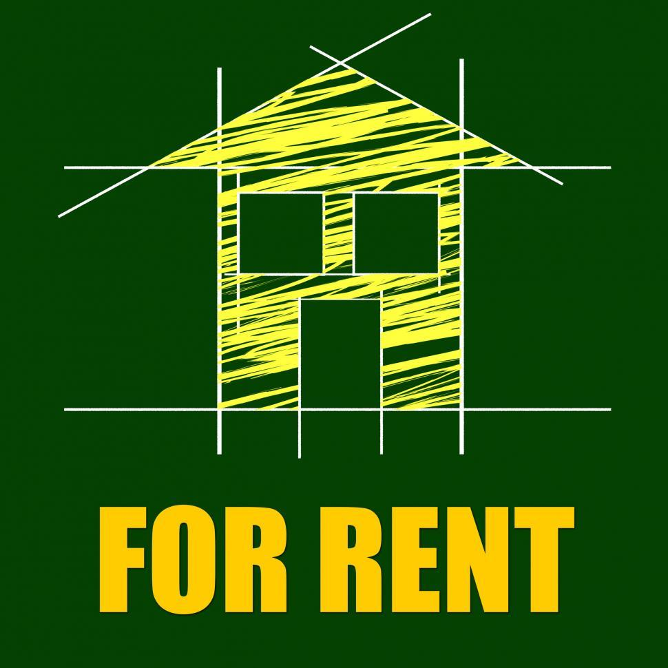 Download Free Stock HD Photo of For Rent Represents Detail Architecture And Housing Online