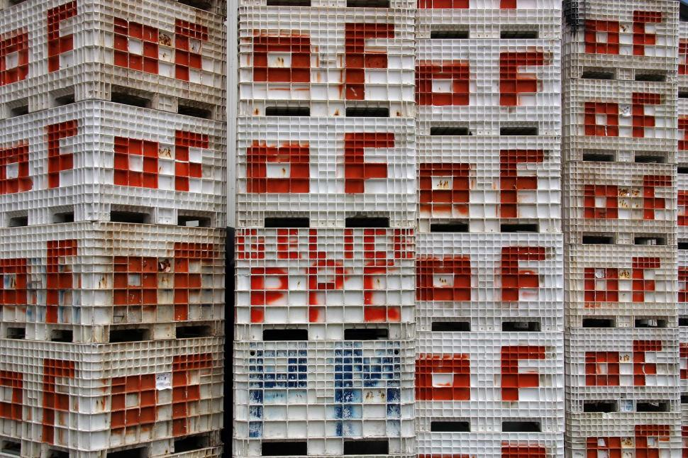 Download Free Stock HD Photo of Large plastic crates Online