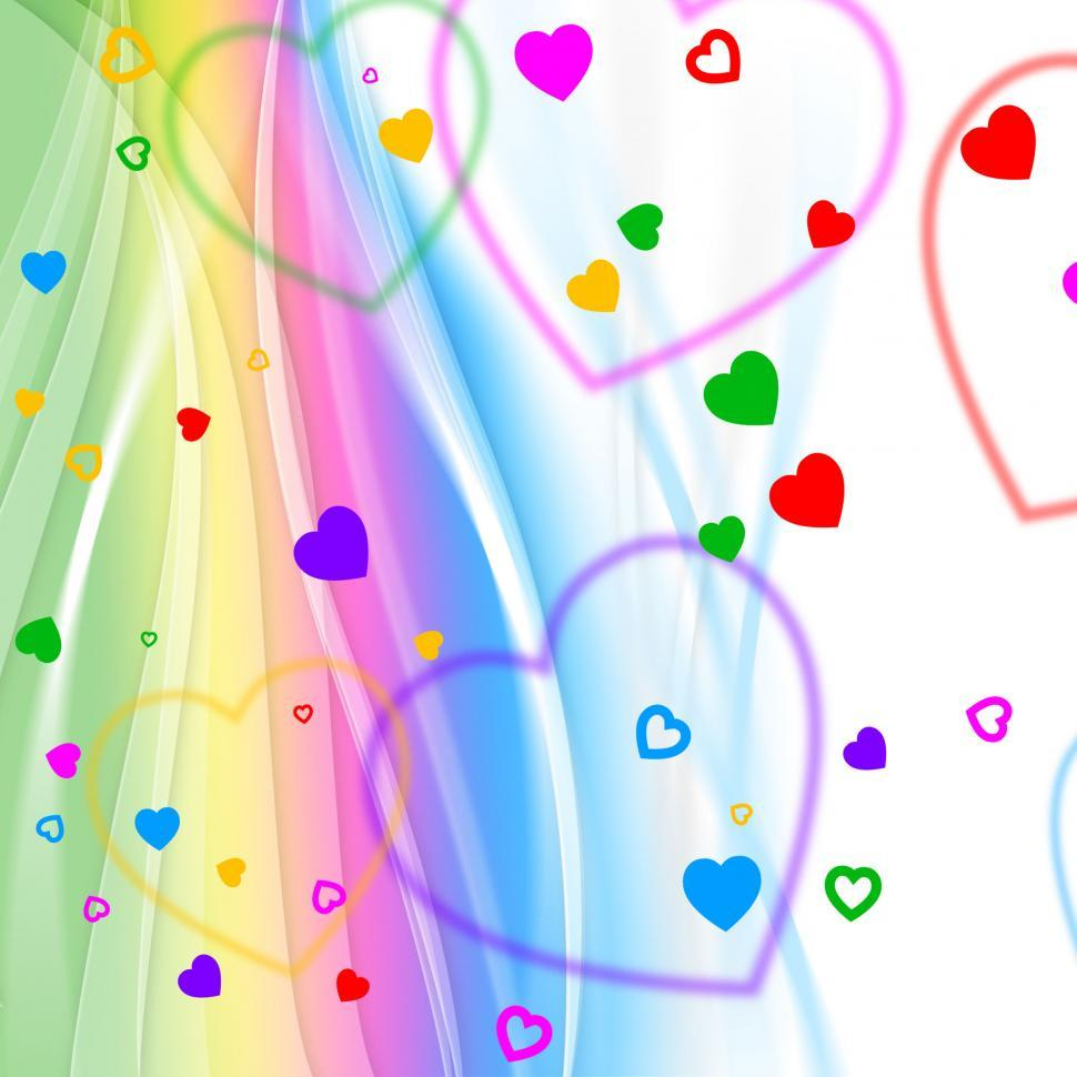 Download Free Stock HD Photo of Pastel Color Indicates Valentine Day And Background Online