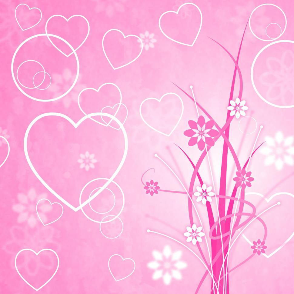 Download Free Stock HD Photo of Pink Background Means Valentines Day And Abstract Online