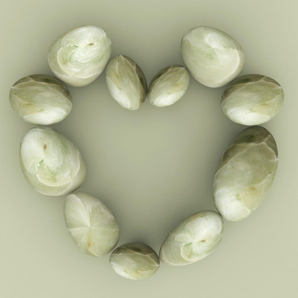 Download Free Stock HD Photo of Spa Stones Indicates Valentine s Day And Healthy Online