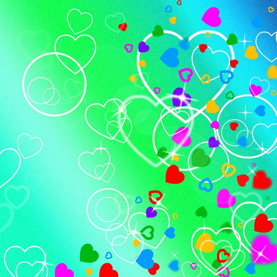 Download Free Stock HD Photo of Background Heart Indicates Valentine s Day And Affection Online