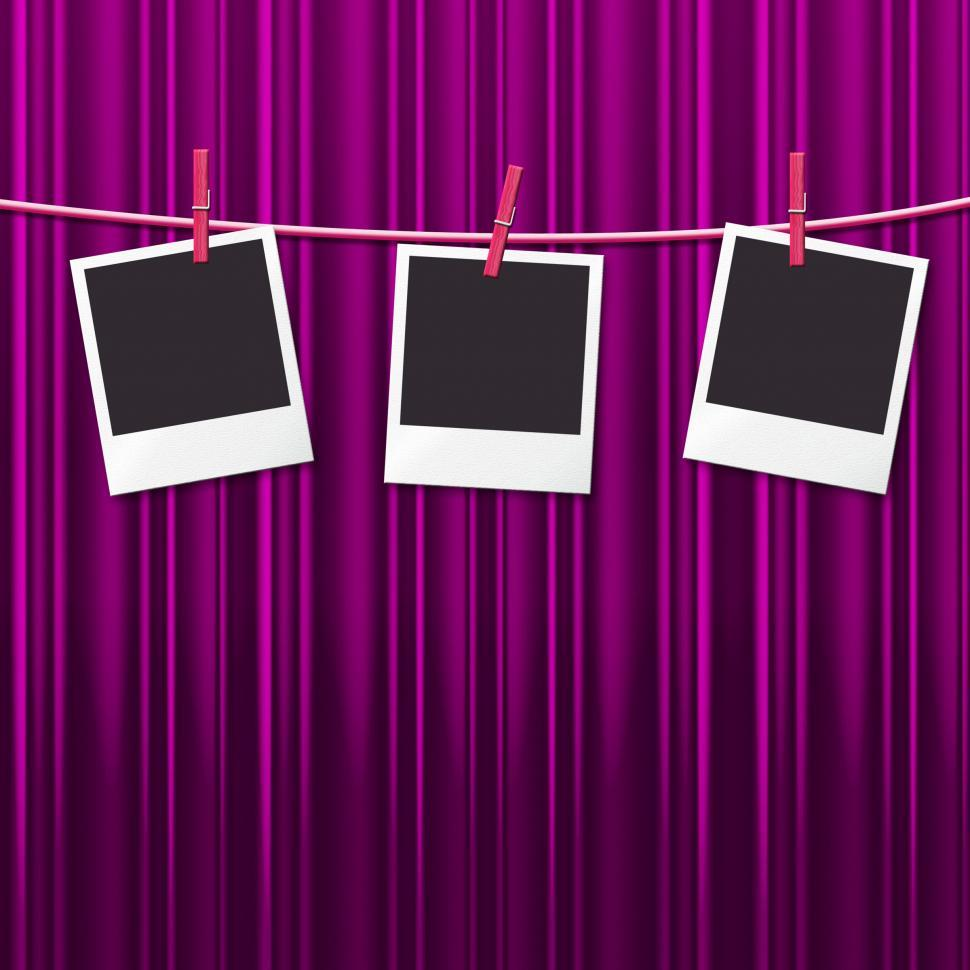 Download Free Stock HD Photo of Photo Frames Shows Empty Space And Background Online
