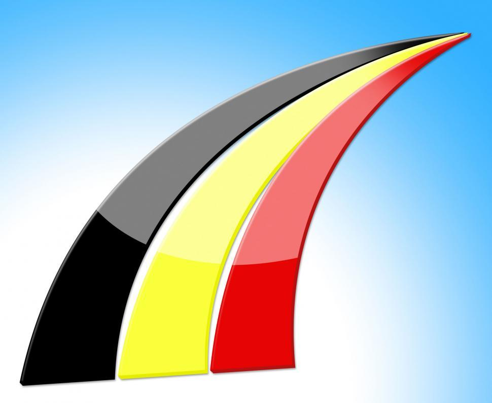 Download Free Stock HD Photo of Flag Belgium Indicates Euro National And Patriotic Online