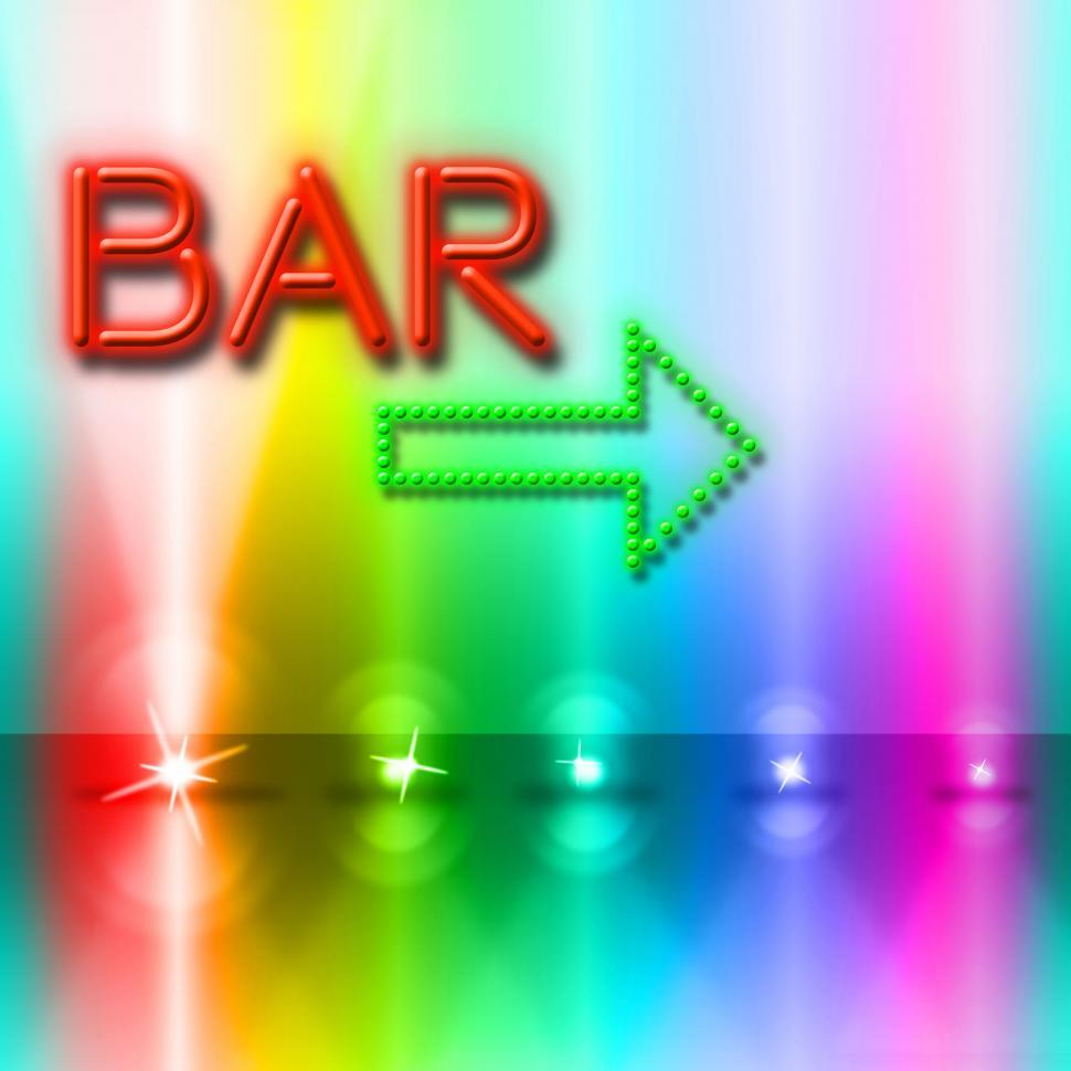 Download Free Stock HD Photo of Bar Spotlight Shows Traditional Pub And Beam Online