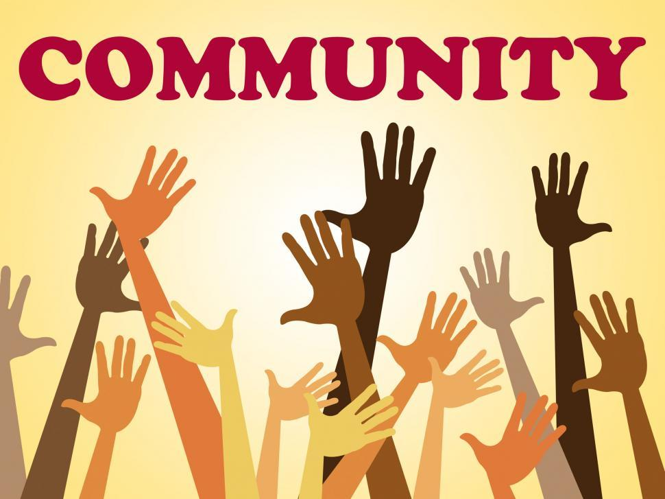 Download Free Stock HD Photo of Hands Community Represents Organized Group And Altogether Online