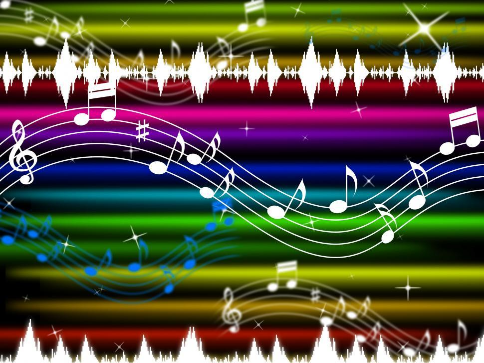 Download Free Stock HD Photo of Music Background Means Pop Rock And Singing   Online