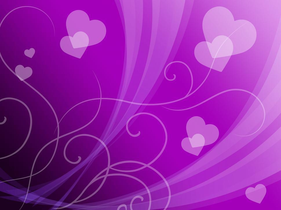 Download Free Stock HD Photo of Elegant Hearts Background Means Delicate Passion Or Fine Wedding Online