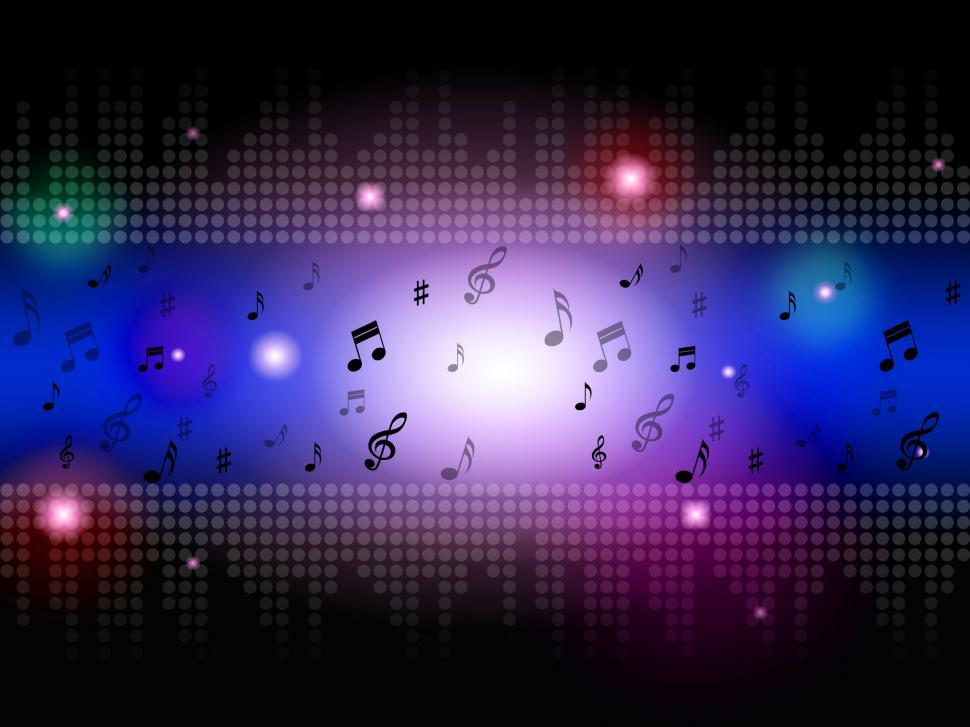 Download Free Stock HD Photo of Music Background Means Classical Blues Or Rock  Online