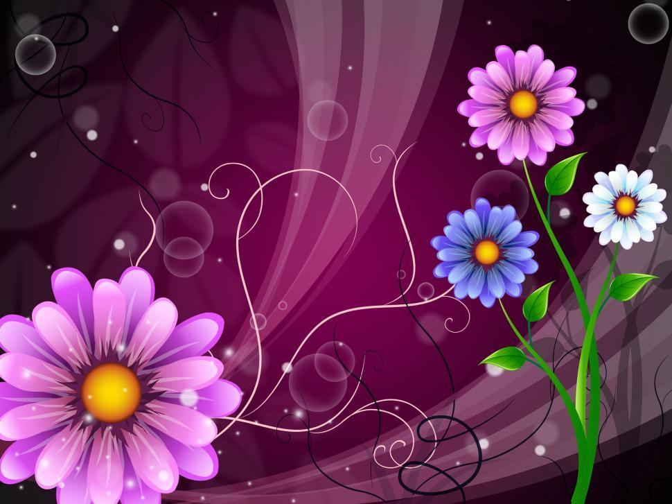 Download Free Stock HD Photo of Flowers Background Shows Outdoors Flowering And Nature  Online