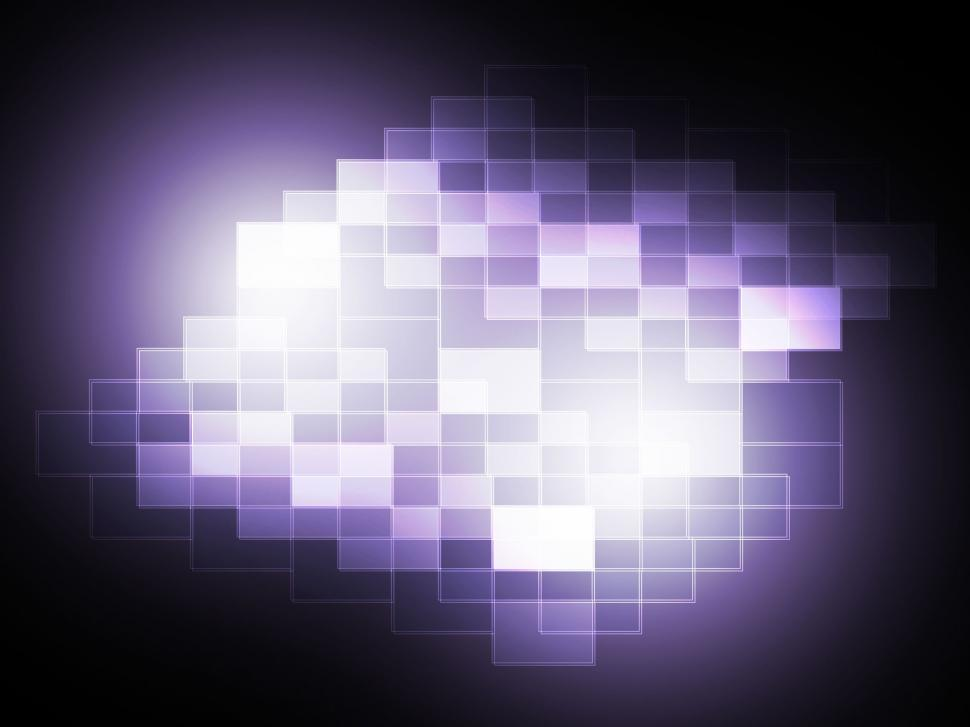 Download Free Stock HD Photo of Blurry Pixel Light Spot Means Creativity And Diffusion  Online