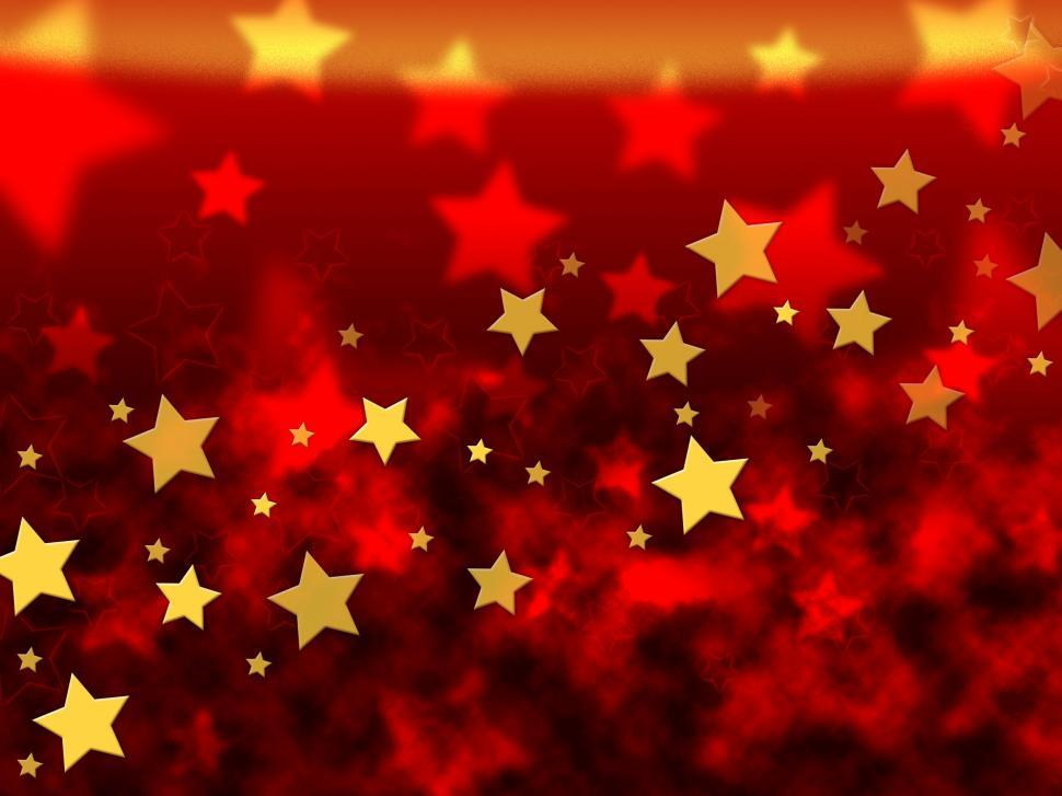 Download Free Stock HD Photo of Orange Stars Background Means Brightness In Heavens  Online