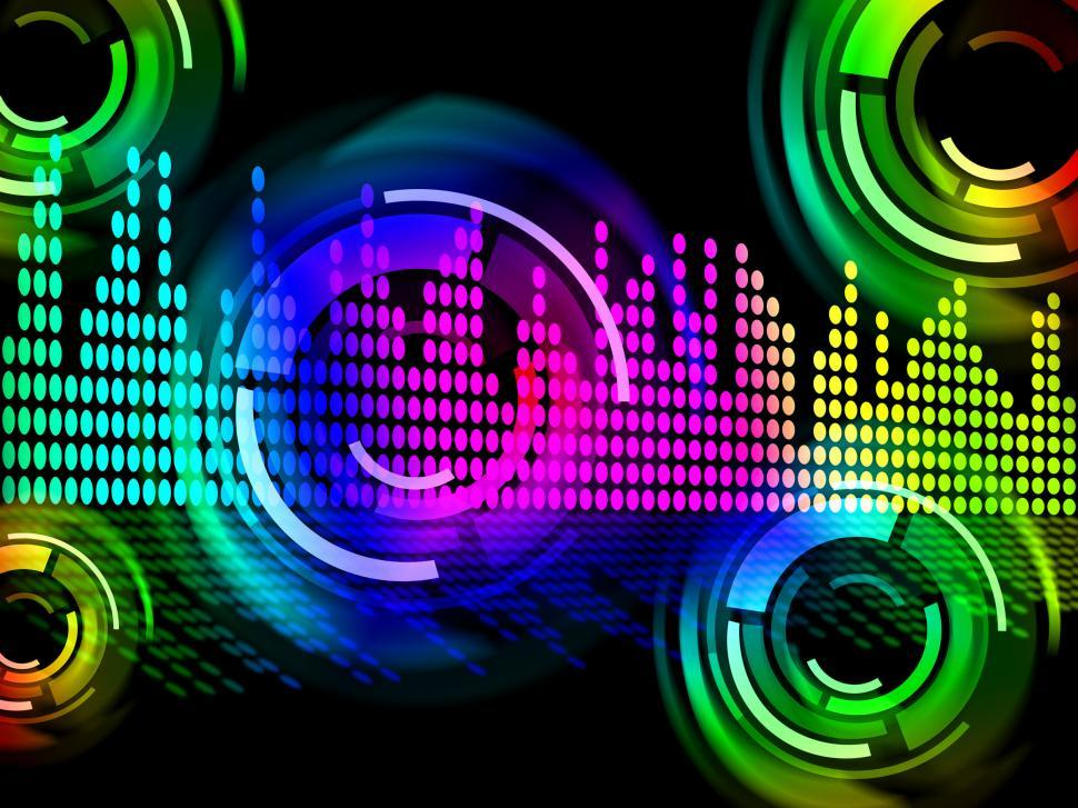 Get Free Stock Photos of Digital Music Beats Background