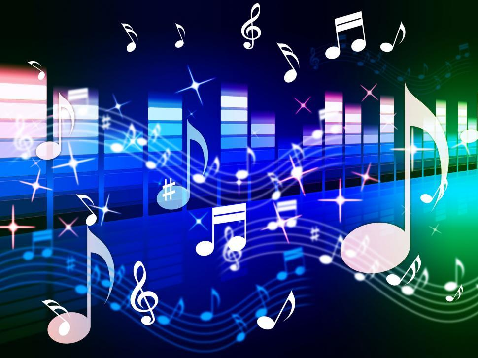 Download Free Stock Hd Photo Of Multicolored Music Background Shows Song Randb Or Blues Online