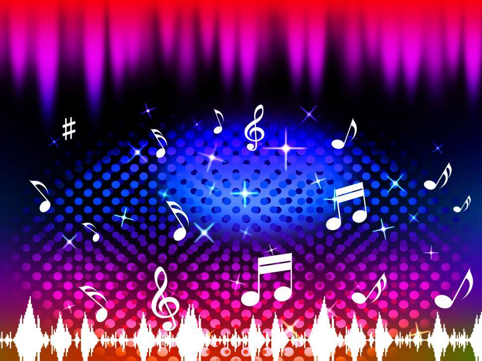 Download Free Stock HD Photo of Music Background Means Singing Dancing Or Melody  Online