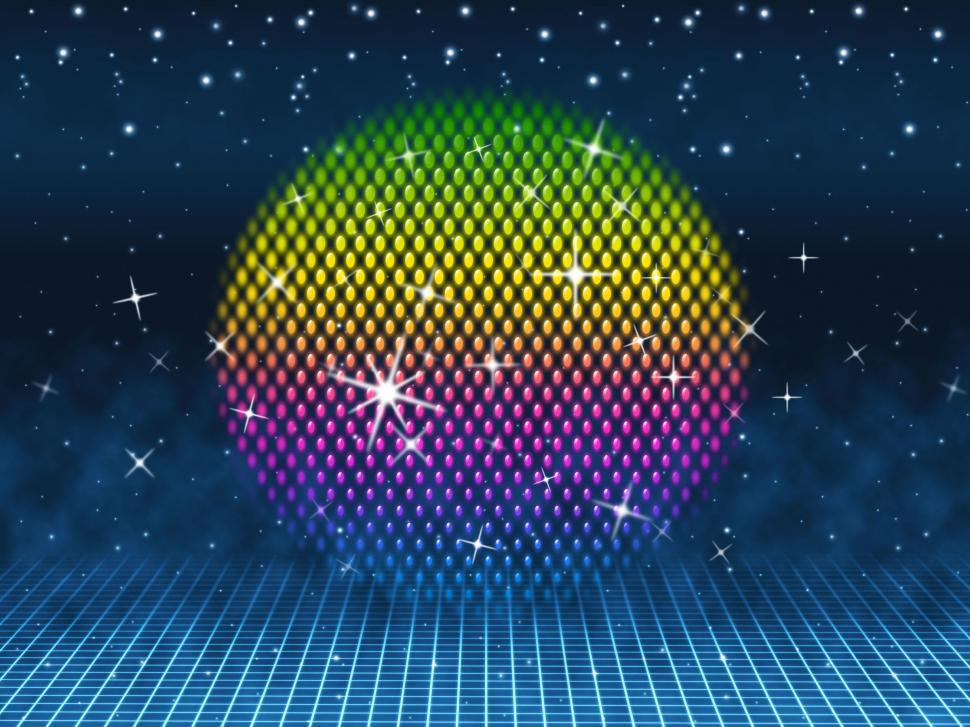 Download Free Stock HD Photo of Colorful Ball Means Colors Sparkles And Party  Online