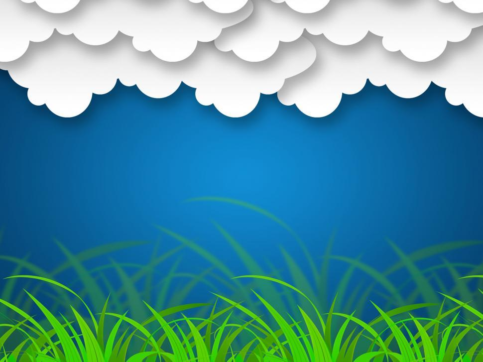 Download Free Stock HD Photo of Cloudy Sky Background Shows Stormy Climate Or Scenery  Online