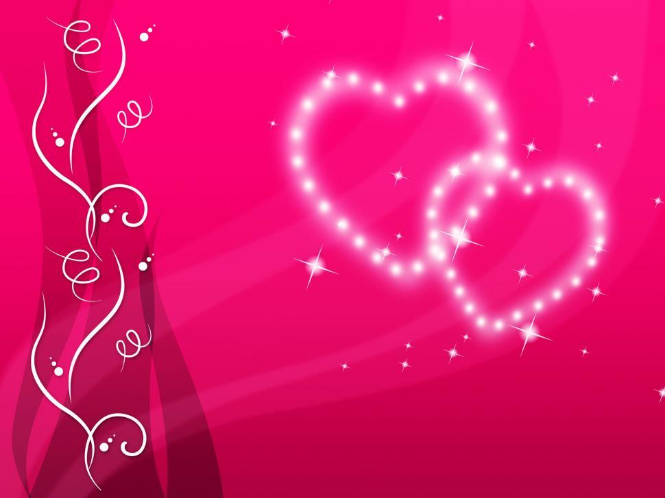 Download Free Stock HD Photo of Pink Hearts Background Means Love Family And Floral  Online