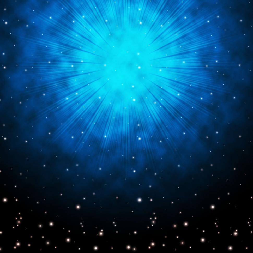 Download Free Stock HD Photo of Blue Sky Background Means Stars Celestial And Glowing  Online