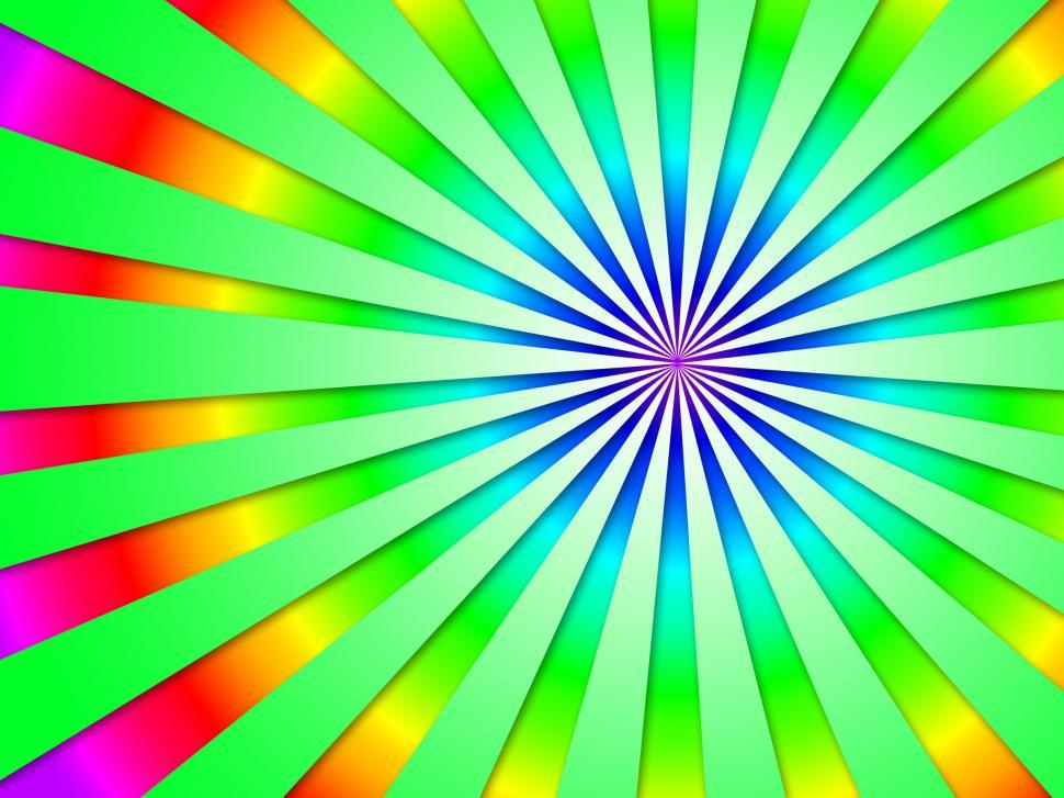 Download Free Stock HD Photo of Colourful Dizzy Striped Tunnel Background Shows Futuristic Dizzy Online