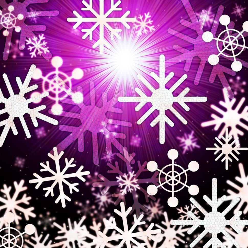 Download Free Stock HD Photo of Snowflake Background Means Snowing Sun And Winter  Online