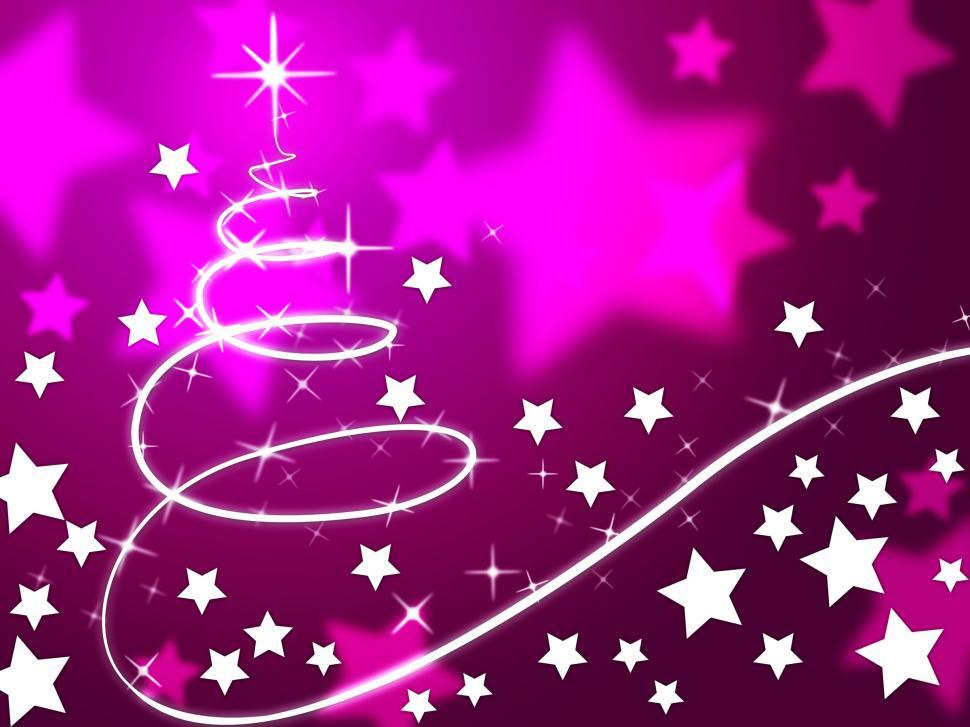 get free stock photos of purple christmas tree background means