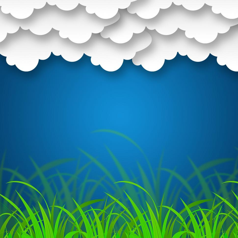 Download Free Stock HD Photo of Cloudy Sky Background Means Cloudscape Or Stormy Landscape  Online