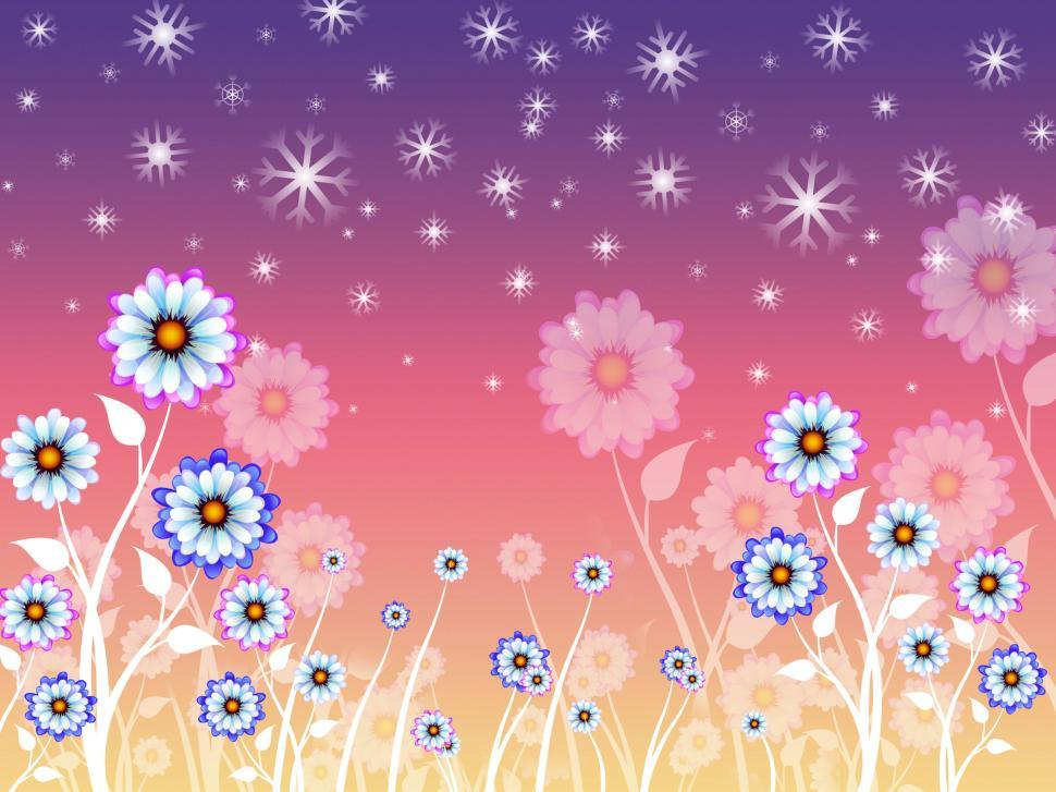 Download Free Stock HD Photo of Flowers Background Means Growing Flowering And Nature  Online