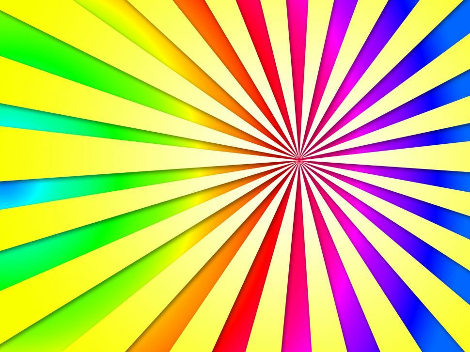 Download Free Stock HD Photo of Colourful Dizzy Striped Tunnel Background Shows Dizzy Illustrati Online