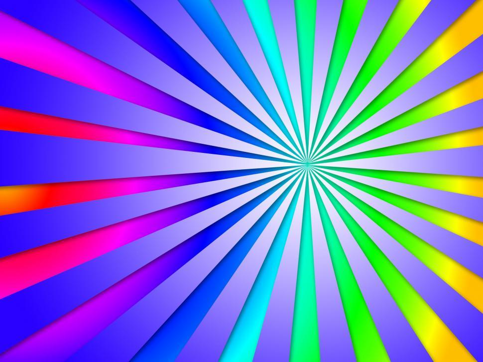 Download Free Stock HD Photo of Colourful Dizzy Striped Tunnel Background Means Dizzy Abstractio Online