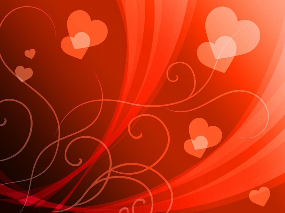 Download Free Stock HD Photo of Elegant Hearts Background Shows Delicate Romantic Wallpaper  Online