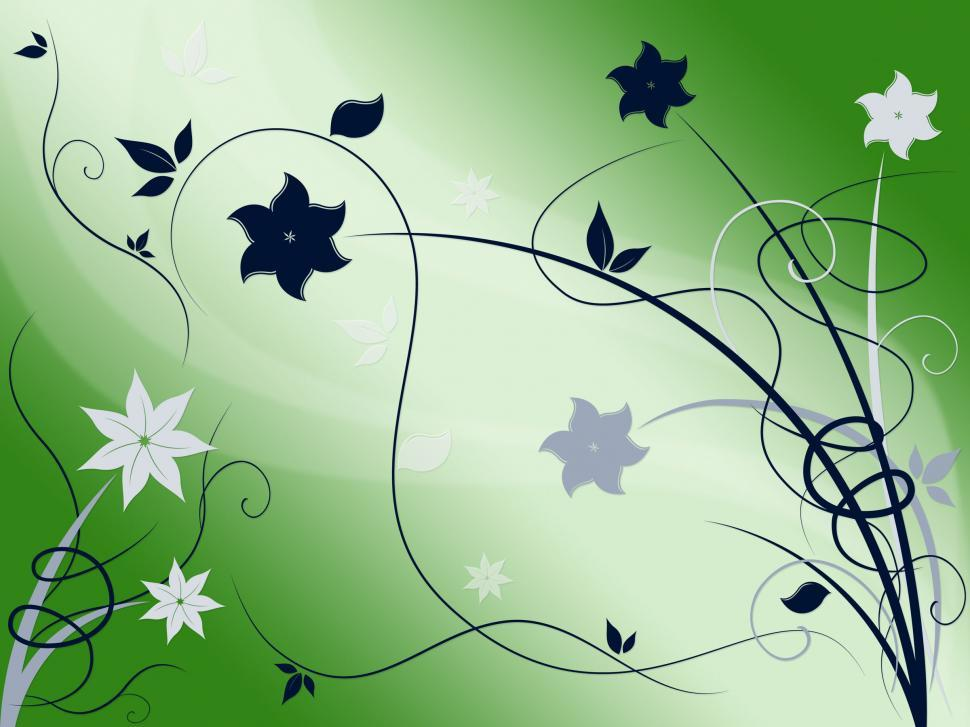 Download Free Stock HD Photo of Elegant Floral Background Shows Beautiful Nature Season  Online