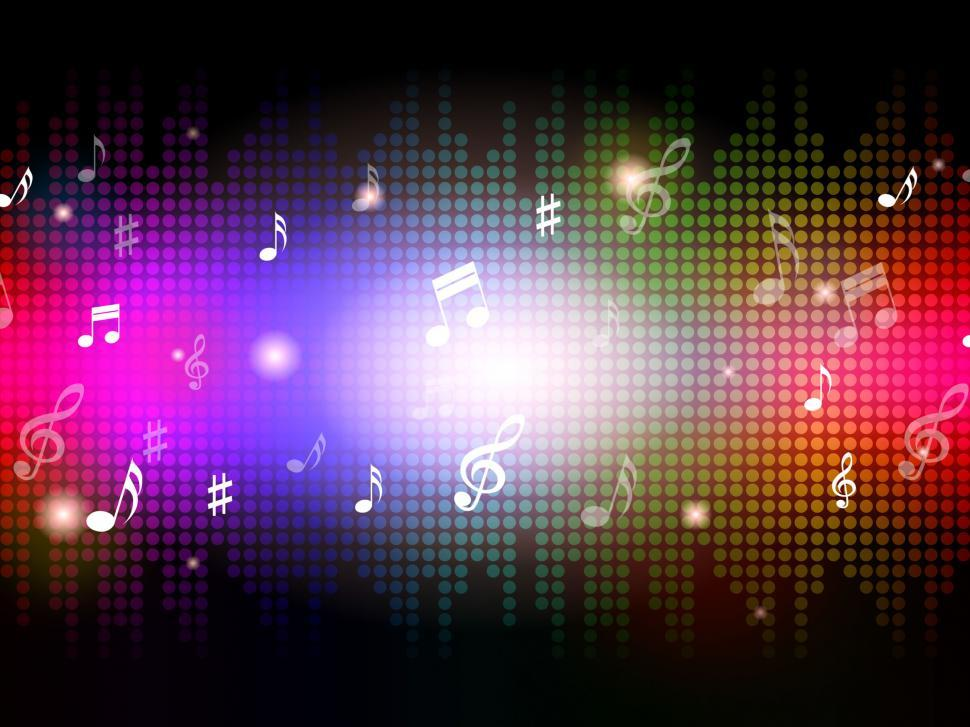 Download Free Stock HD Photo of Music Background Shows Notes And Musical Piece  Online