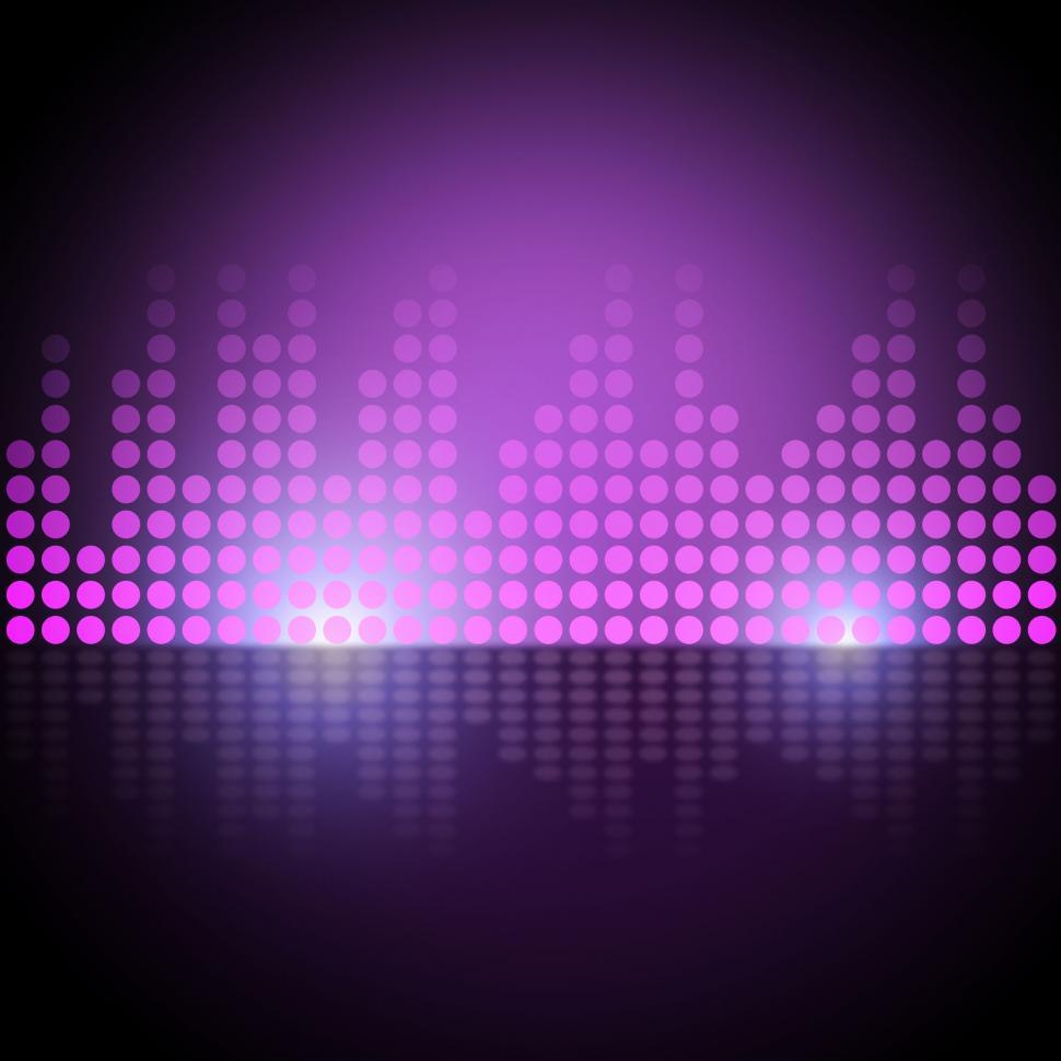 Get Free Stock Photos of Music Equalizer Background Means