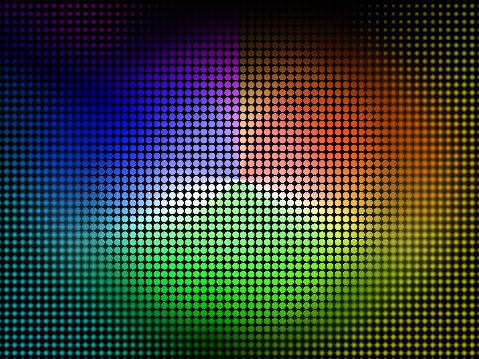 Download Free Stock HD Photo of Color Wheel Background Shows Coloring Shade And Pigment  Online