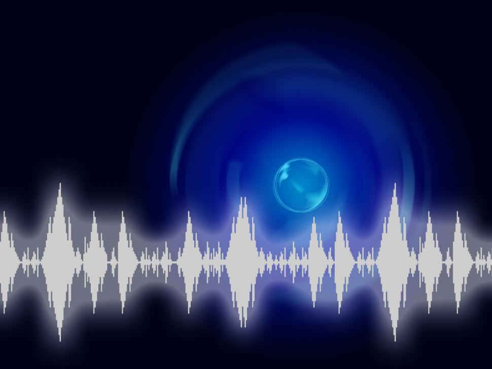 Get Free Stock Photos of Sound Wave Background Shows Sound Equalizer