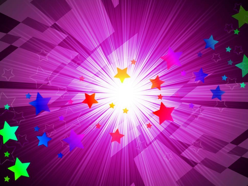 Get Free Stock Photos of Rainbow Stars Background Means