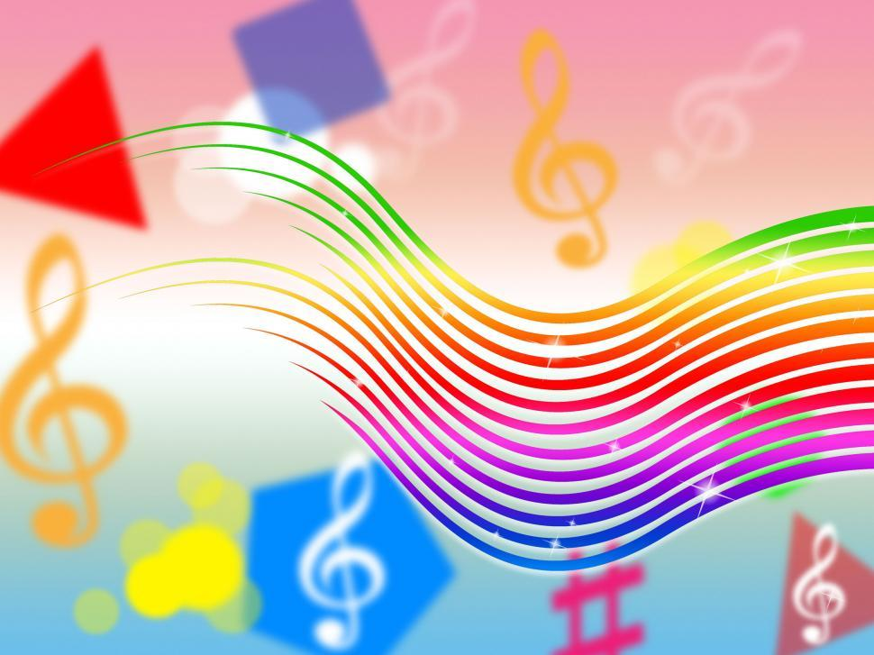Rainbow Music Stock Images: Get Free Stock Photos Of Rainbow Music Background Means