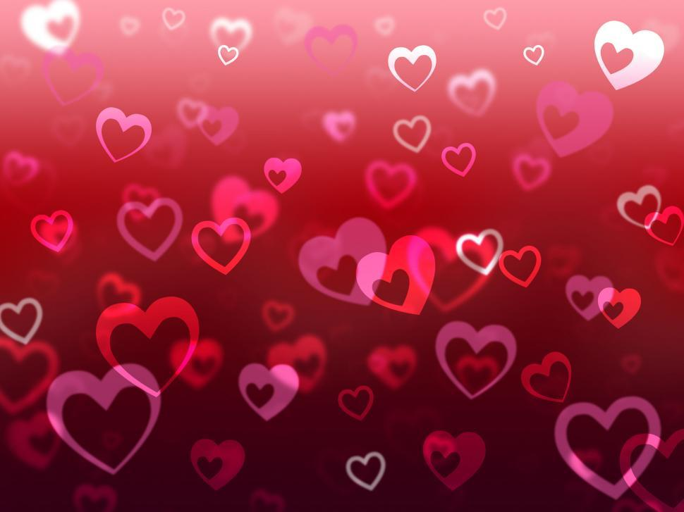Download Free Stock HD Photo of Hearts Background Means Love Adore And Friendship  Online