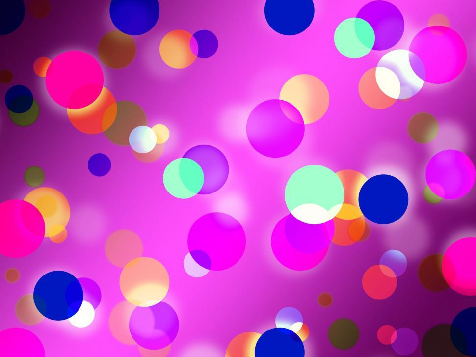 Download Free Stock HD Photo of Purple Spots Background Means Glowing Dots And Round  Online