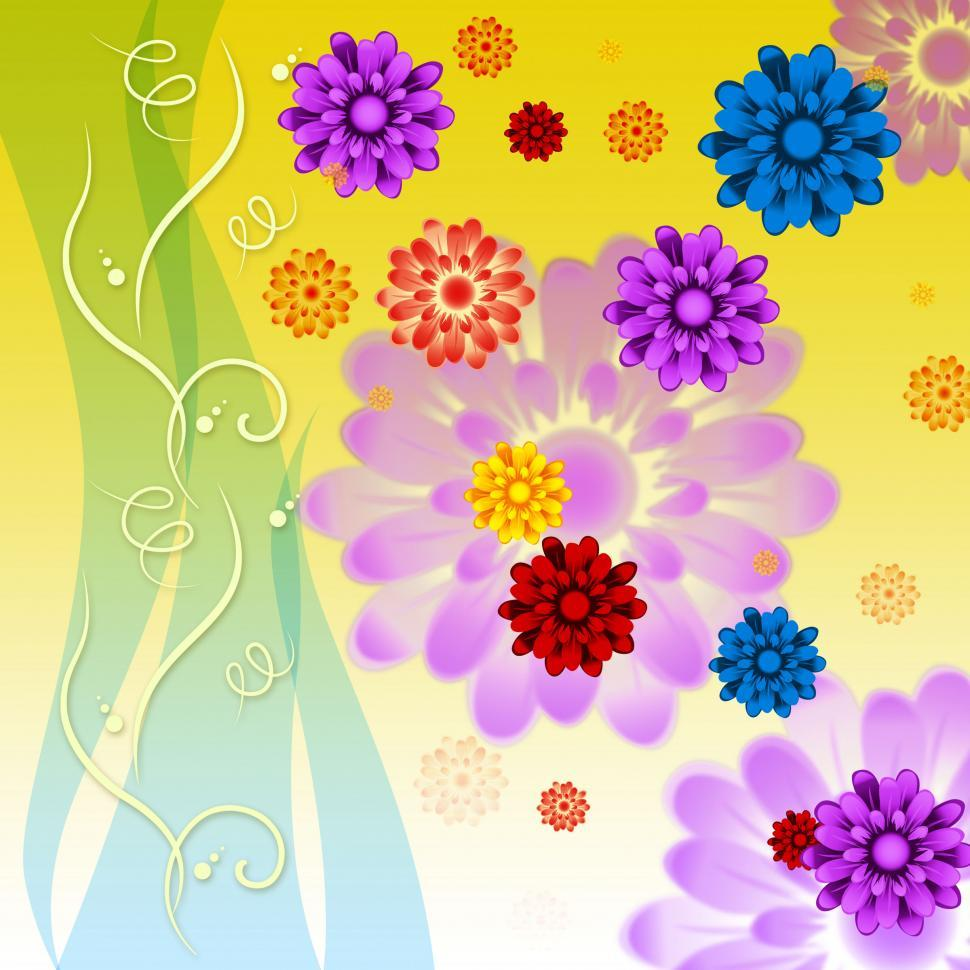 Get Free Stock Photos Of Colorful Flowers Background Means Petals