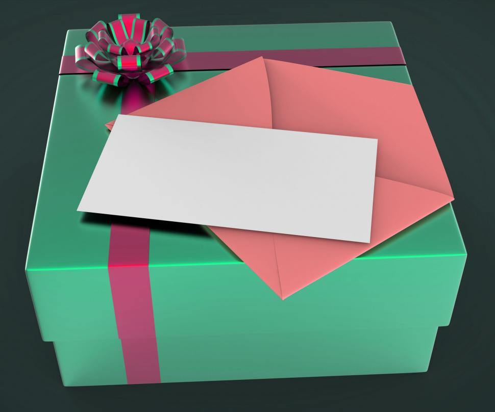 Download Free Stock HD Photo of Gift Tag Shows Text Space And Copy-Space Online