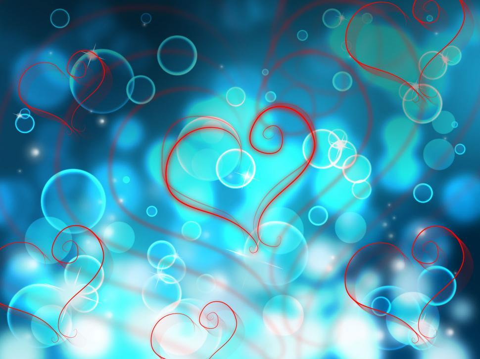 Download Free Stock HD Photo of Bokeh Heart Shows Valentines Day And Abstract Online