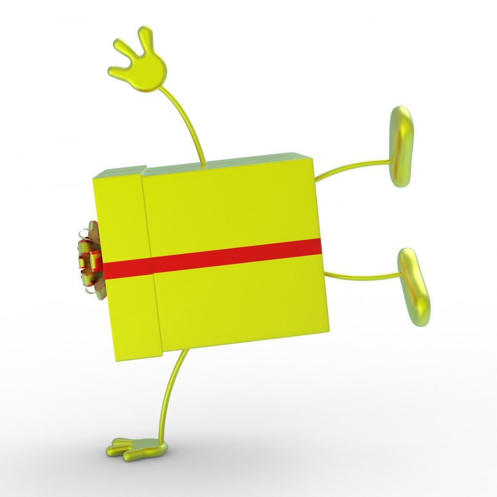 Download Free Stock HD Photo of Celebrate Giftbox Means Surprise Celebrations And Presents Online
