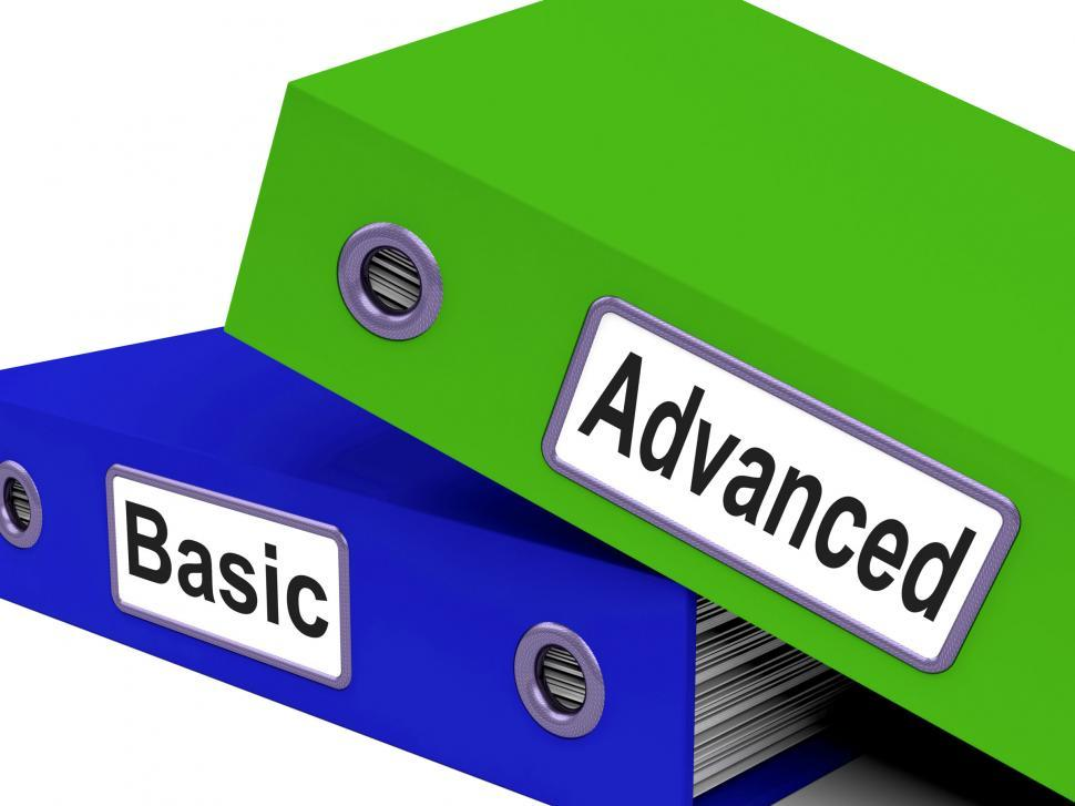 Download Free Stock HD Photo of Advanced Basic Represents Pricing Plan And Administration Online