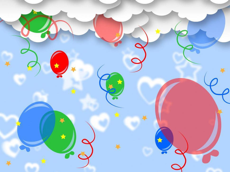 Download Free Stock HD Photo of Celebrate Balloons Indicates Backgrounds Template And Party Online
