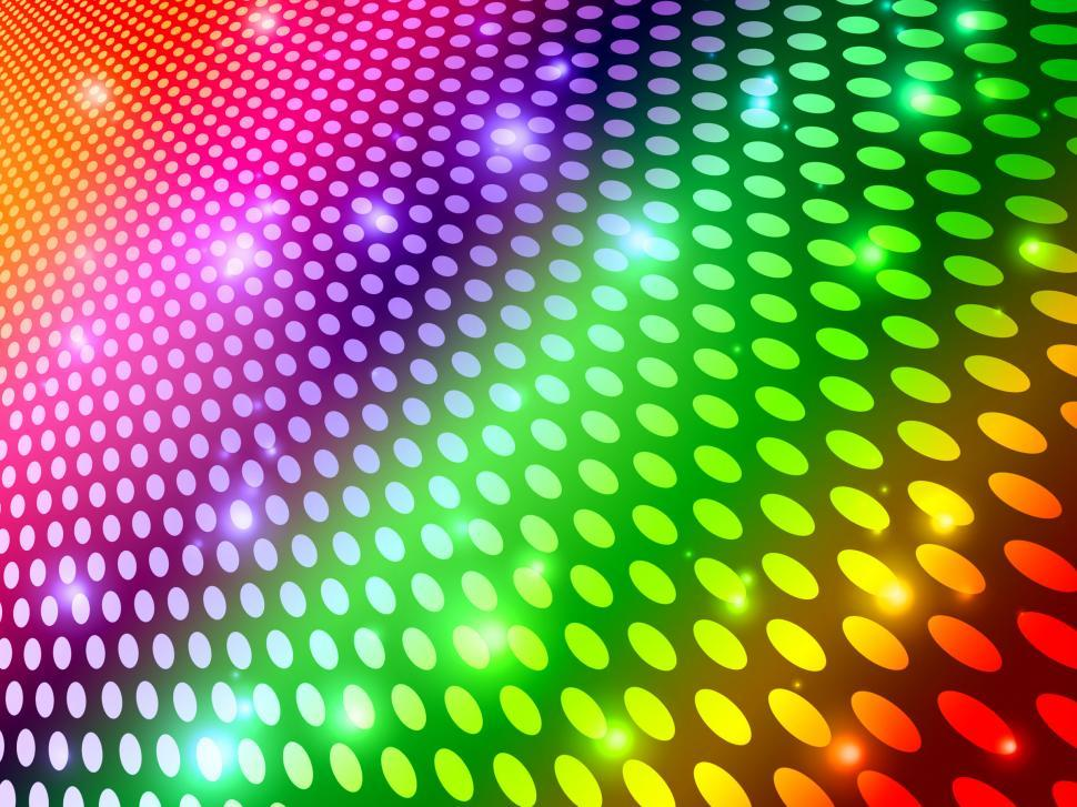 Download Free Stock HD Photo of Background Circles Indicates Multicolored Backdrop And Spectrum Online
