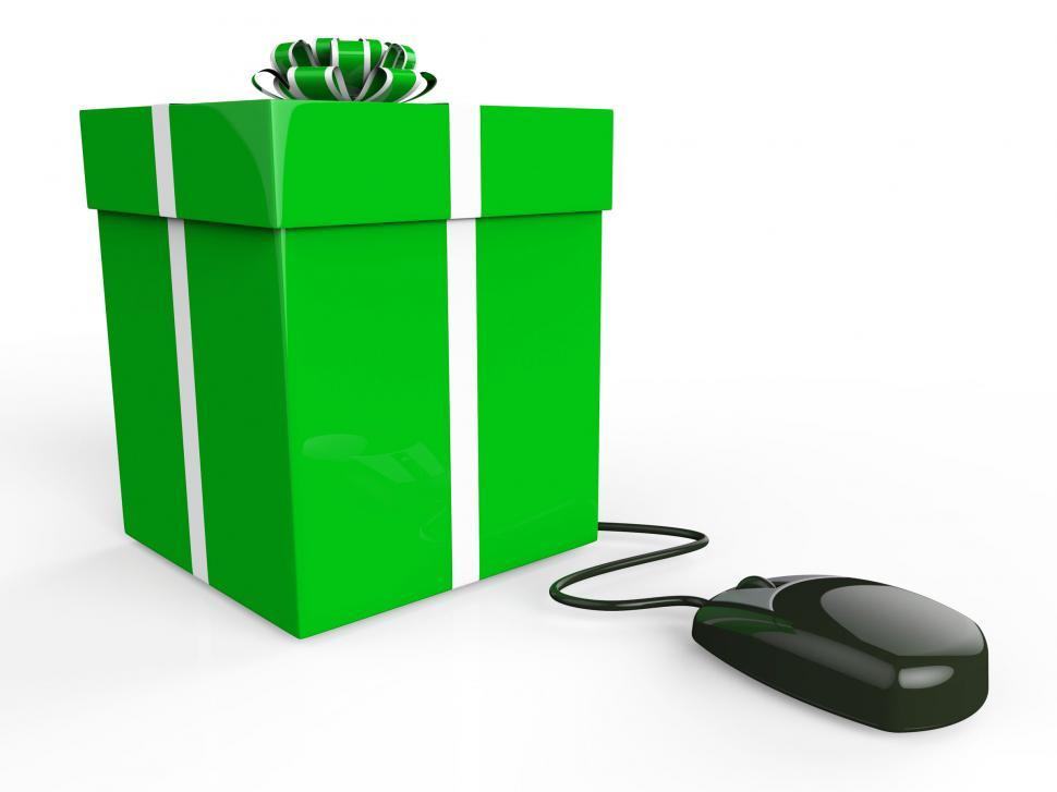 Download Free Stock HD Photo of Online Gift Shows World Wide Web And Box Online