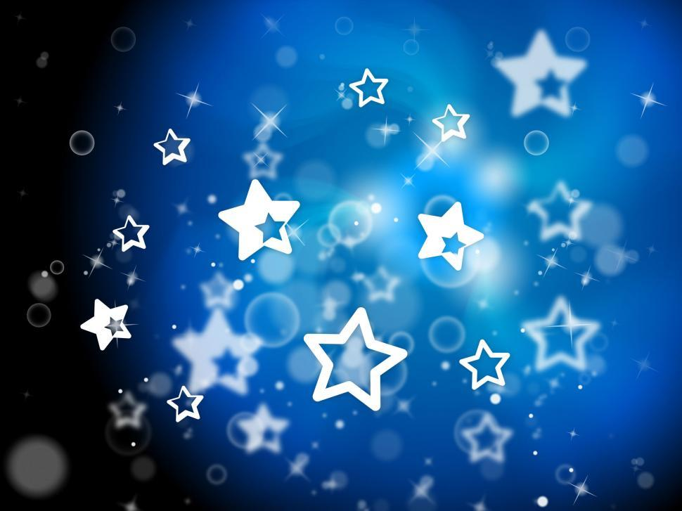 Download Free Stock HD Photo of Stars Background Means Light Burst And Dazzling Online