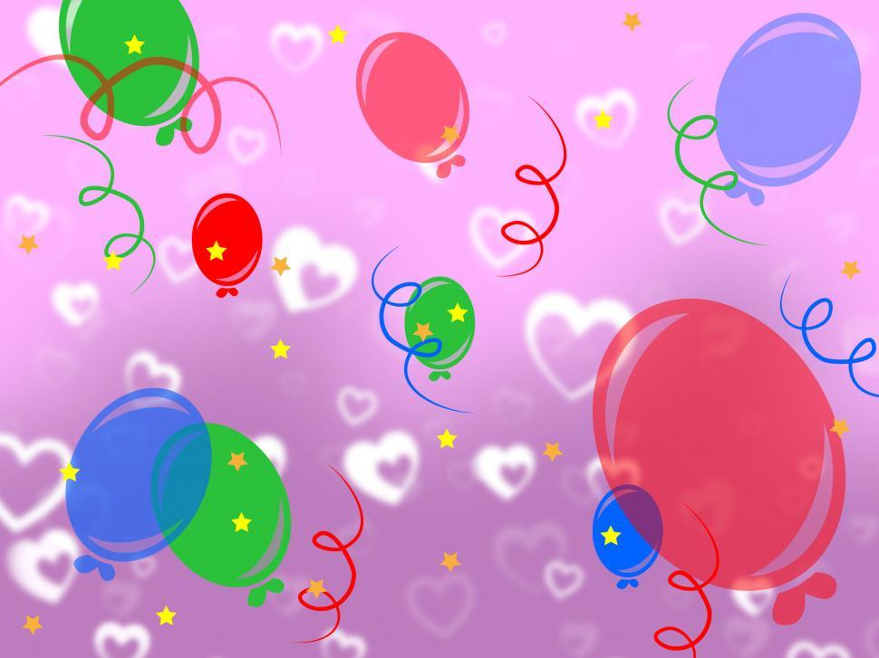 Download Free Stock HD Photo of Background Celebrate Represents Cheerful Fun And Template Online